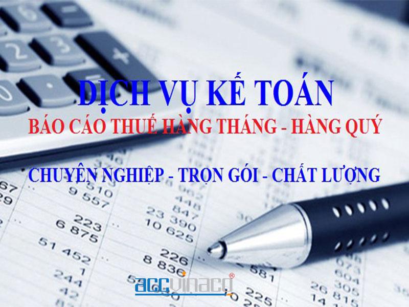 Dịch vụ kế toán tại Tphcm uy tín năm 2020